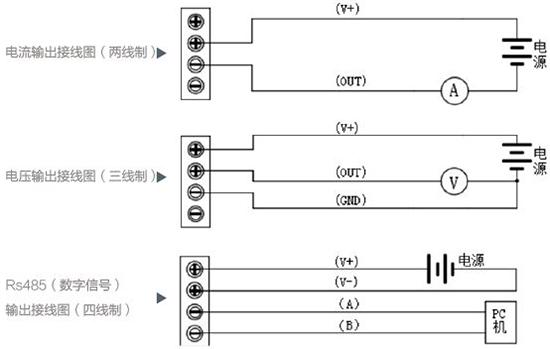 防爆压力变送器接线图
